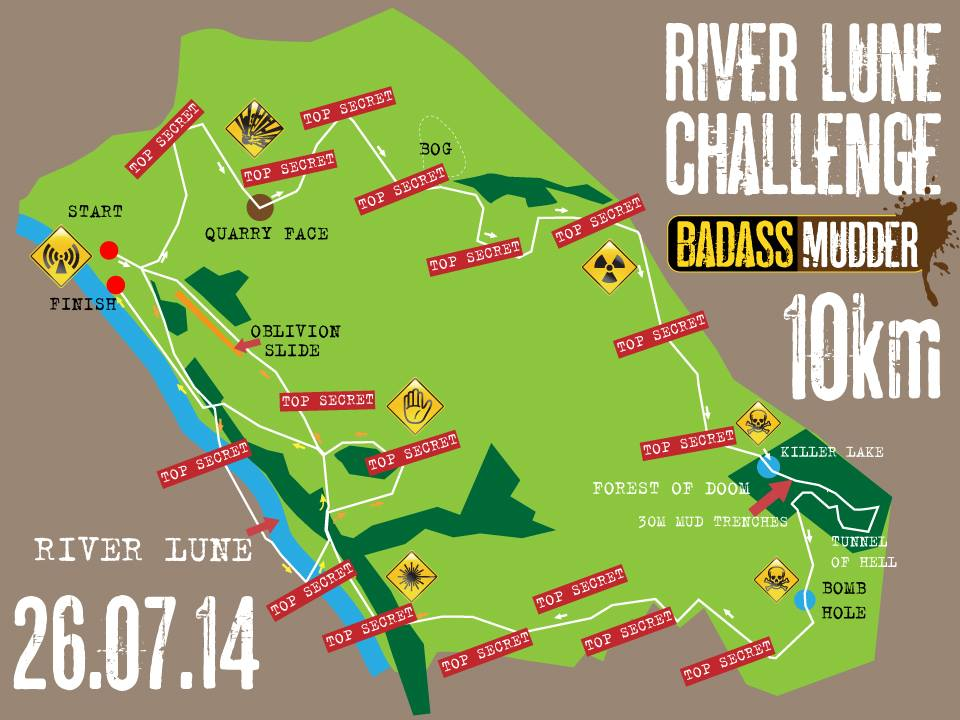 Badsss course map